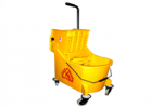 33ltr Wringer Trolley with partition